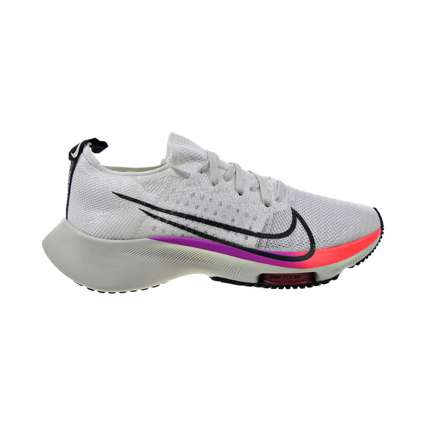 Nike Air Zoom Tempo Flyknit (GS) Big Kids' Shoes White-Black-Hyper Violet