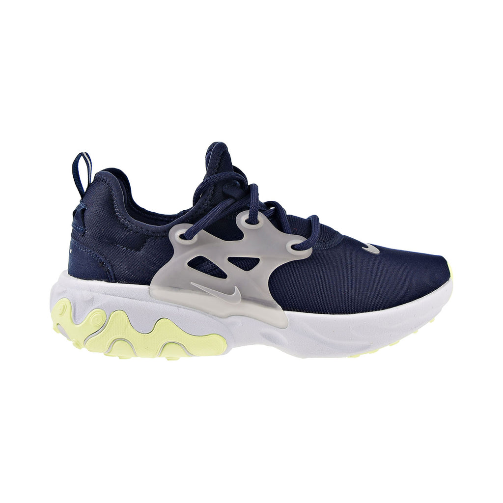 Nike React Presto Men's Shoes Obsidian-Metallic Silver