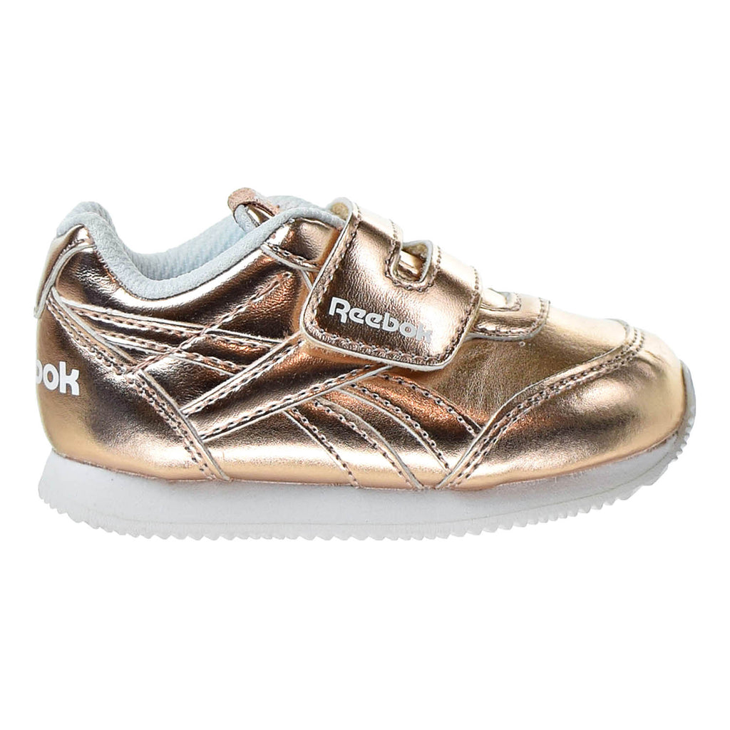 Reebok Royal Classic Jogger 2 KC Infant's Shoes Rose Gold Metallic/ White