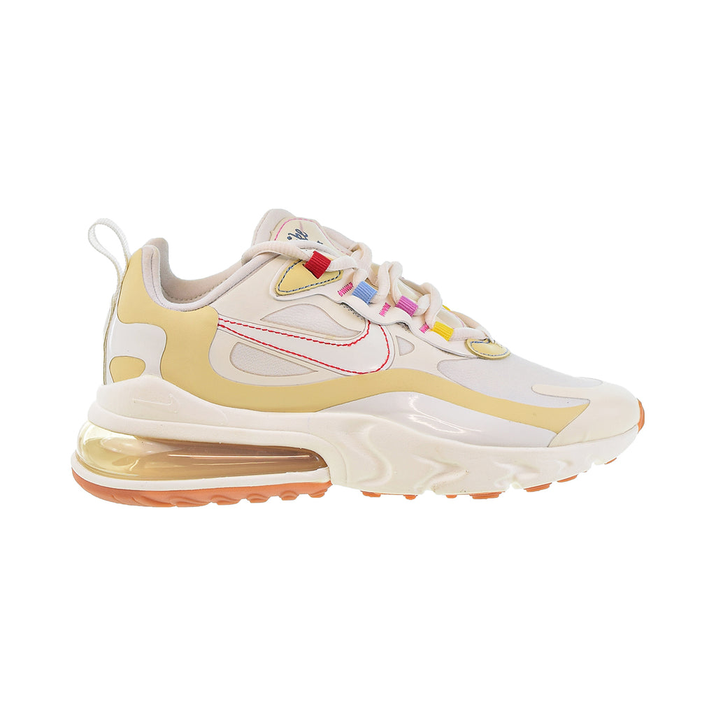 Nike Air Max 270 React Women's Shoes Pale Ivory-Sail-Pale Vanilla