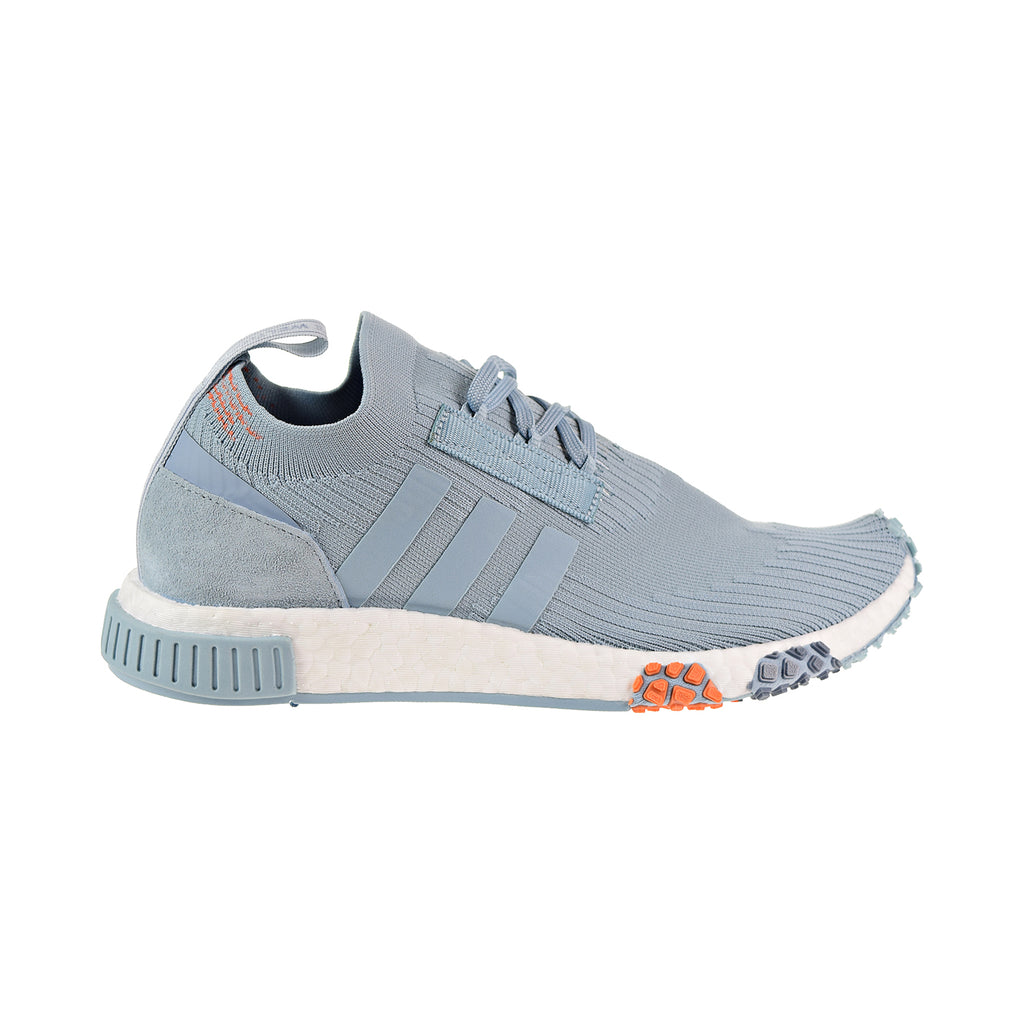 Adidas NMD_Racer Primeknit Women's Shoes Ash Grey/Blue Tint/white