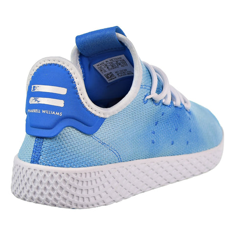 9d7f44cb75979 Adidas PW Tennis HU Big Kids Shoes Ocean Blue Footwear White Footwear White