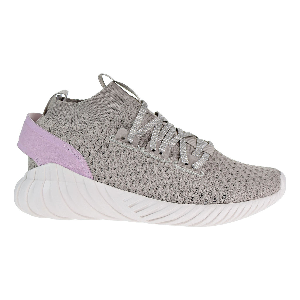 64ba0e099 Adidas Tubular Doom Sock PK Women s Shoes Light Brown Vapour Green Aer –  rbdoutlet