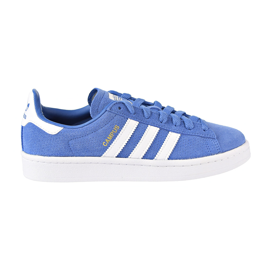 Adidas Campus J Big Kid's Shoes Trace Royal/White