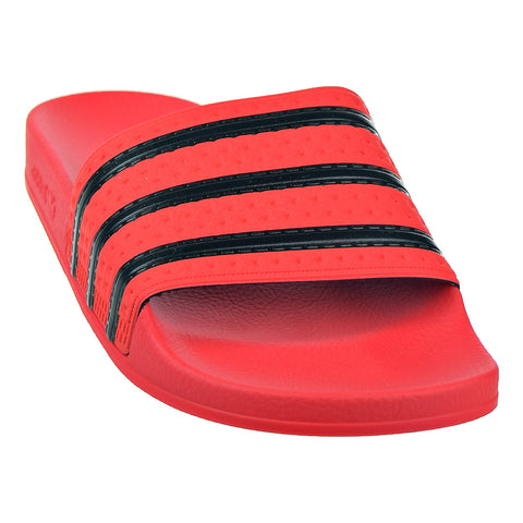 6d3e706e4 Adidas Adilette Mens Slides Real Coral Core Black Real Coral – rbdoutlet