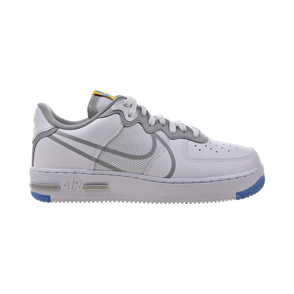 Nike Air Force 1 React Men's Shoes White-Light Smoke Grey