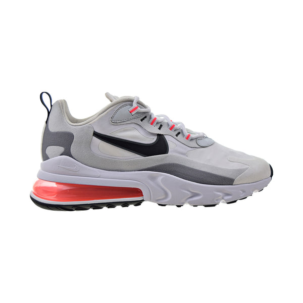 Nike Air Max 270 React Mens' Shoes White-Black-Flash Crimson