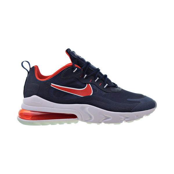 Nike Air Max 270 React Mens' Shoes Midnight Navy-Chile Red