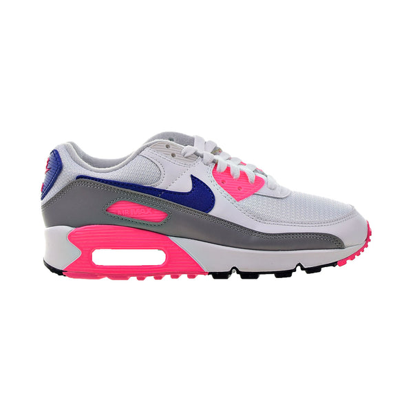 Nike Air Max III 90 Women's Shoes White-Concord-Pink Blast-Vast