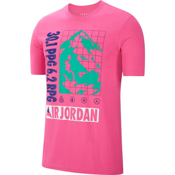 Jordan Winter Utility Men's T-Shirt Pink Watermelon