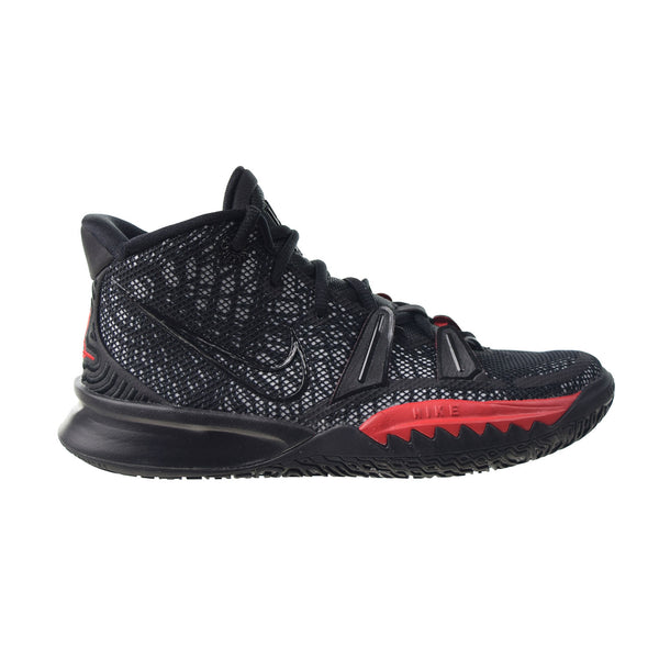 "Nike Kyrie 7 ""Bred"" (GS) Big Kids' Shoes Black-University Red"