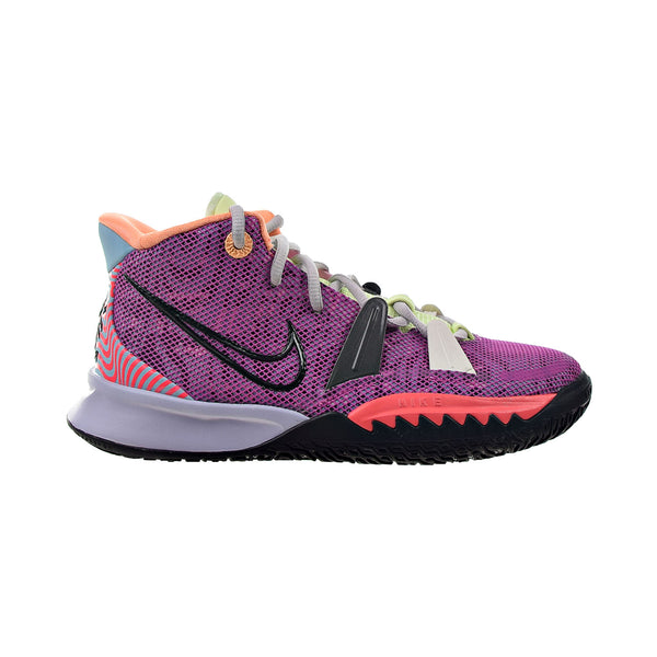 Nike Kyrie 7 'Creator' Big Kids' Shoes Active Fuchsia-Ghost-Flash Crimson-Black
