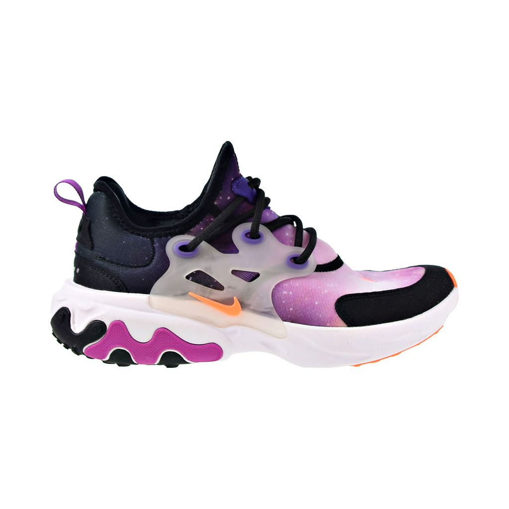 Nike React Presto Print Big Kids' Shoes Black-Total Orange