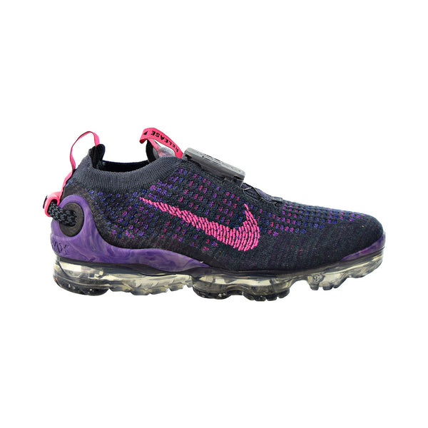 Nike Air Vapormax 2020 Flyknit Women's Shoes Dark Raisin-Pink Blast-Black
