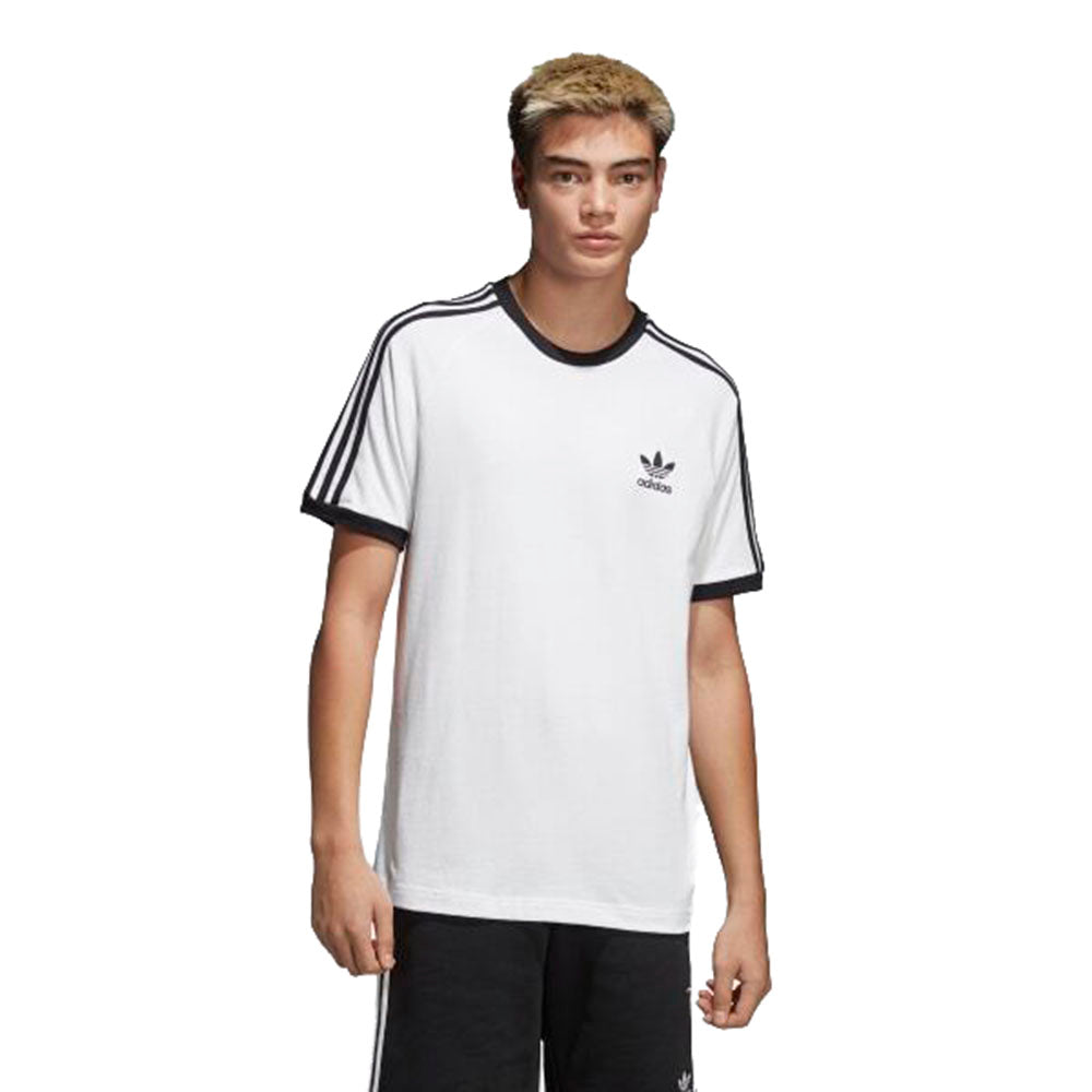 Adidas Men's Originals 3-Stripes Tee White/Black