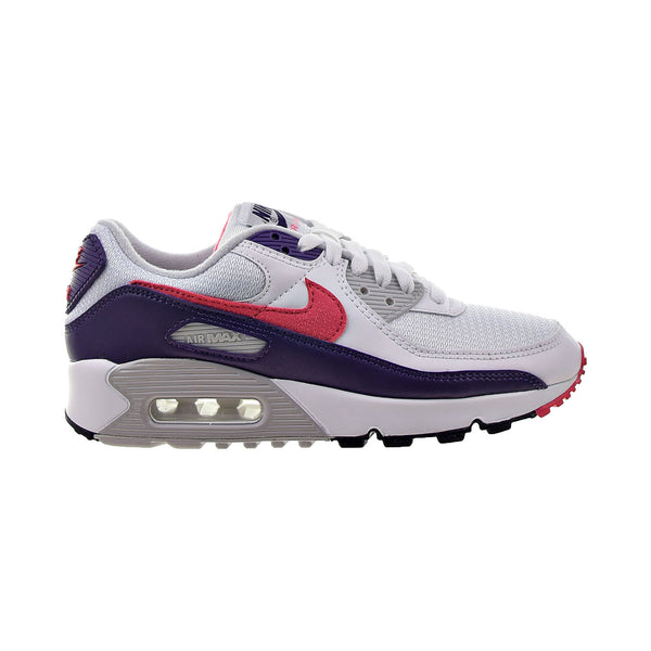 Nike Air Max III 90 Women's Shoes White-Flare-Zen Grey-Eggplant