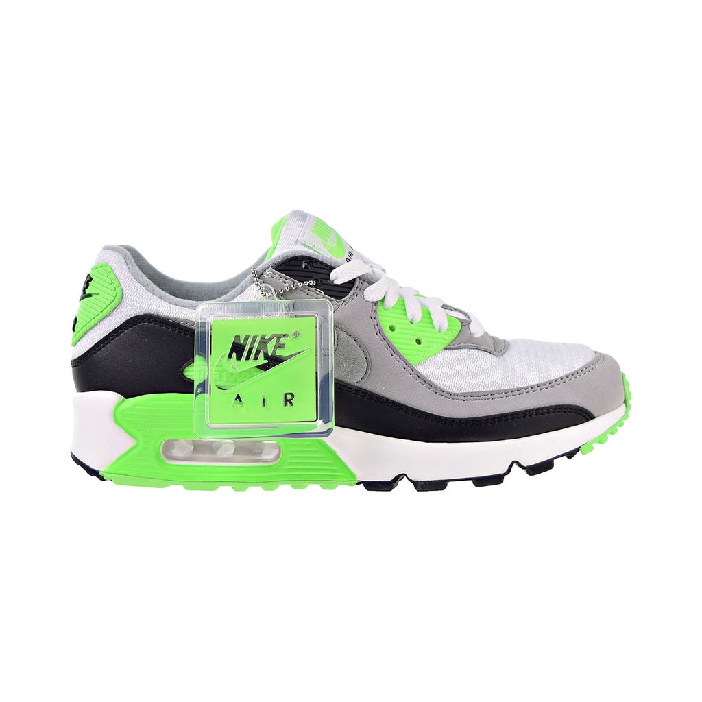 Nike Air Max 90 Men's Shoes Cool White-Light Smoke Grey-Black-Particle Grey