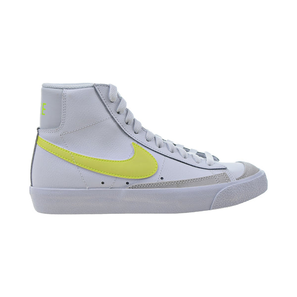 Nike Blazer Mid '77 Vintage Women's Shoes White-Lemon Venom
