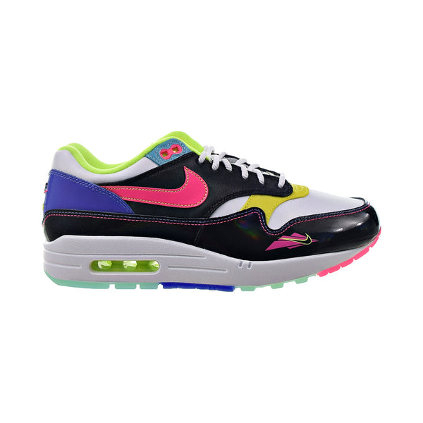Nike Air Max 1 Men's Shoes Black-Hyper Pink-Poti Yellow