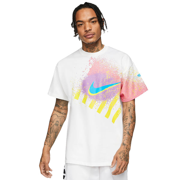 Nike Kyrie 90's Basketball Men's T-Shirt White