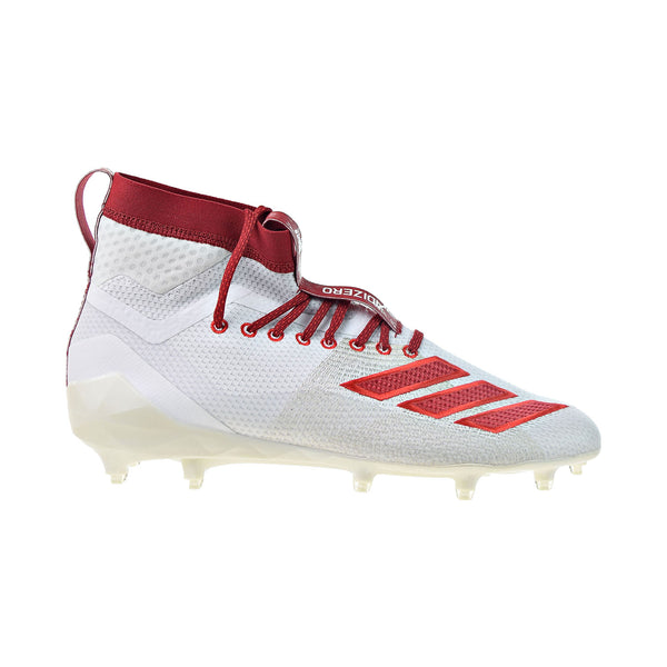 Adidas Adizero 8.0 SK Football Cleats Men's Shoes Cloud White-Power Red