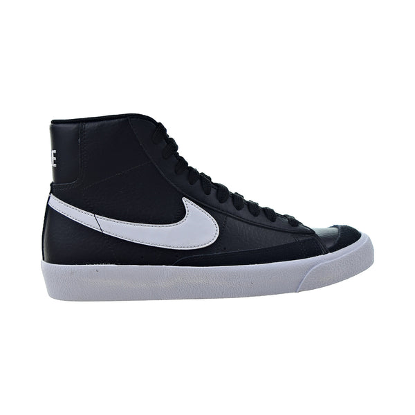 Nike Blazer Mid 77 (GS) Big Kids' Shoes Black-White-Team Orange