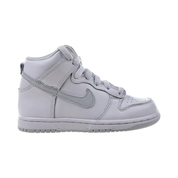 Nike Dunk High SP (PS) Little Kids' Shoes White-Pure Platinum