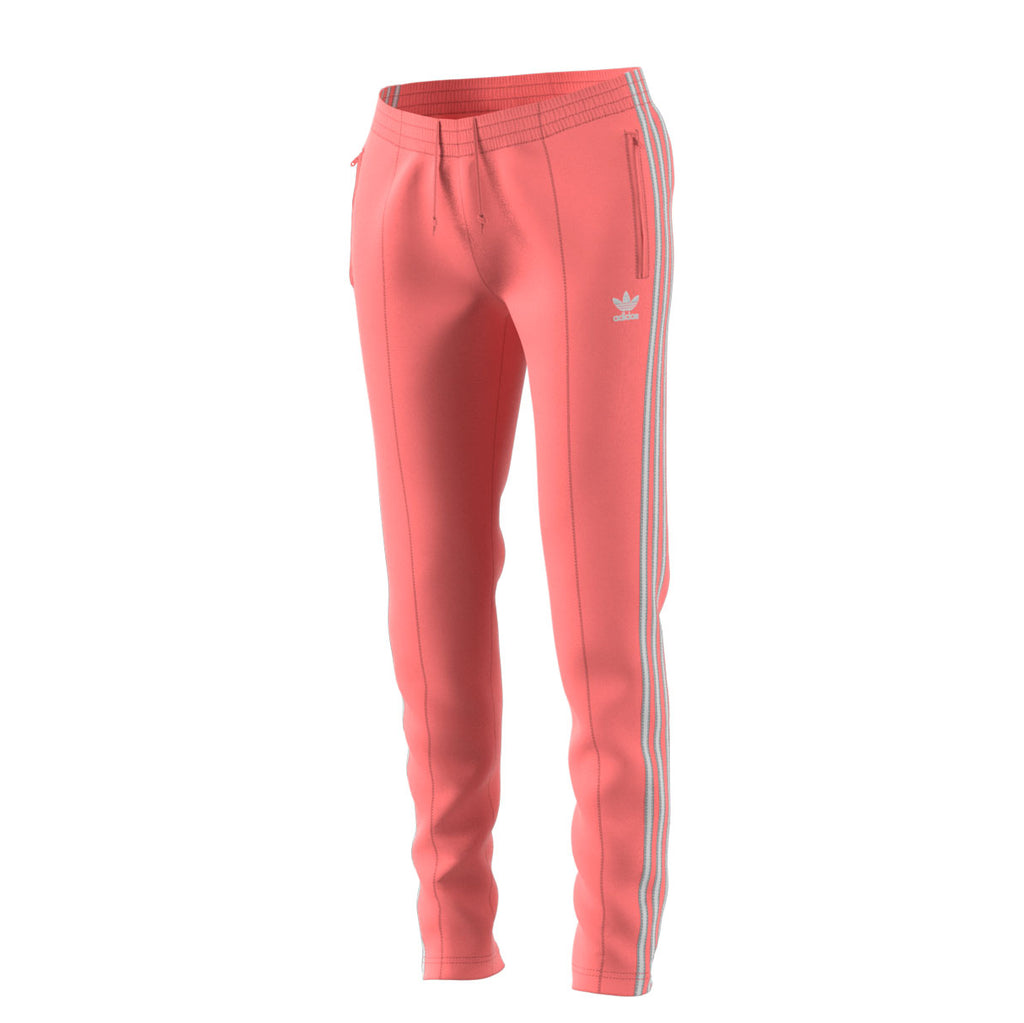 Adidas Originals Superstar Women's Track Pants Tactile Rose/White