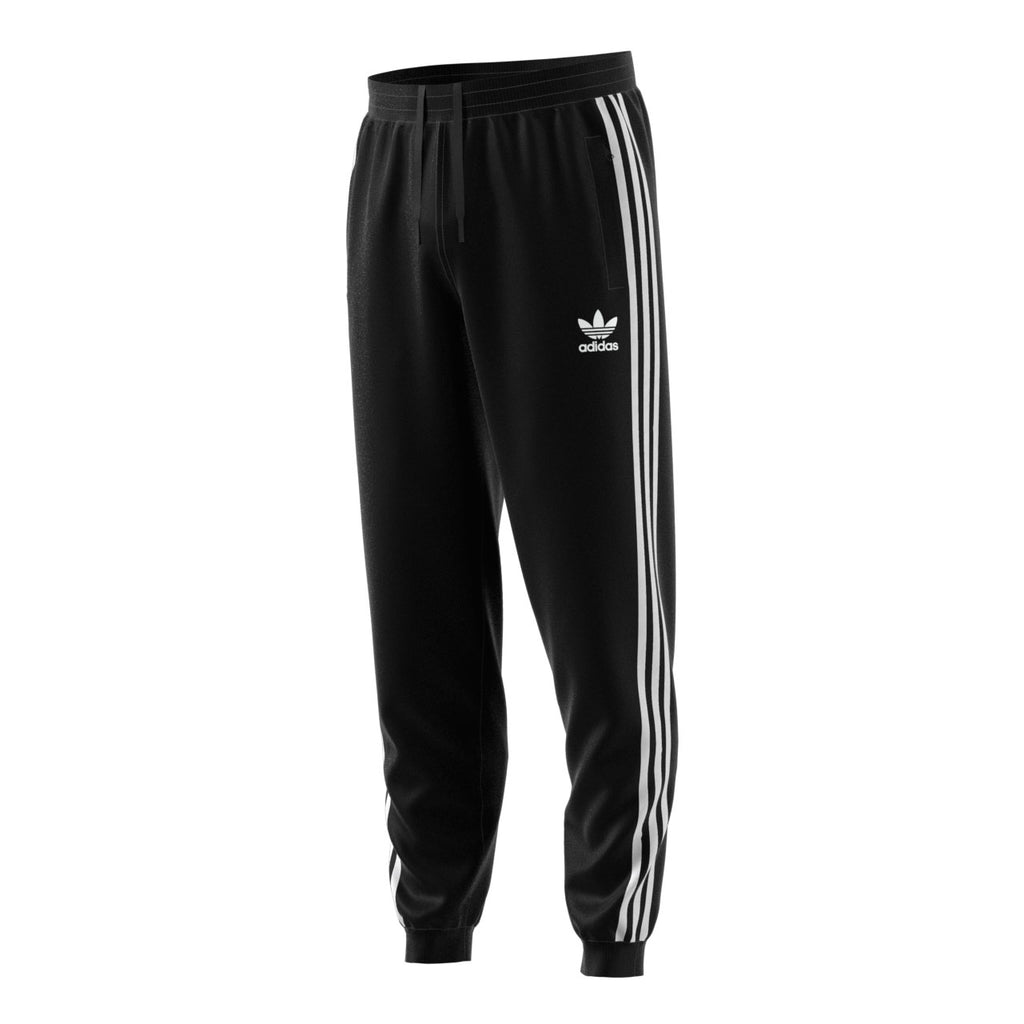 Adidas Originals 3-Stripes Men's Athletic Casual Fashion Joggers Black/White