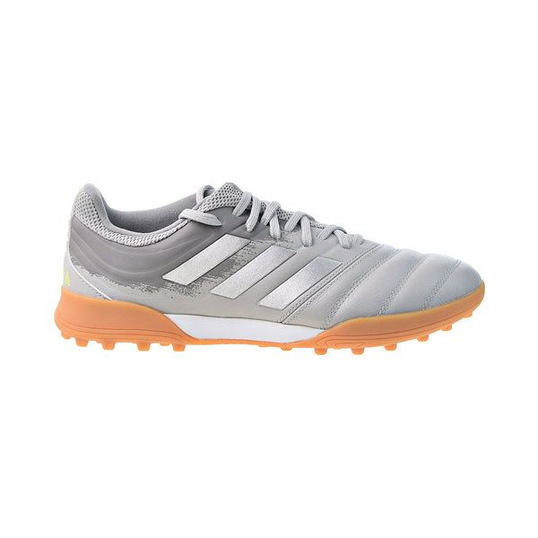 Adidas Copa 20.3 Turf Cleats Men's Soccer Football Shoes Grey Two-Solar Yellow