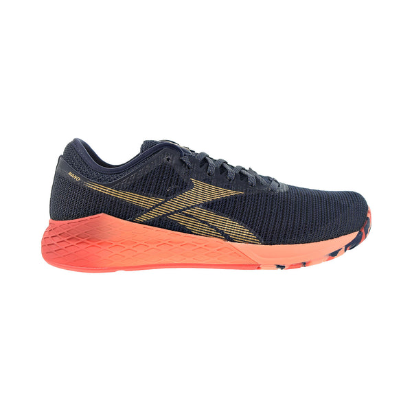 Reebok Nano 9 Men's Training Shoes Heritage Navy-Rosette-Sunglow
