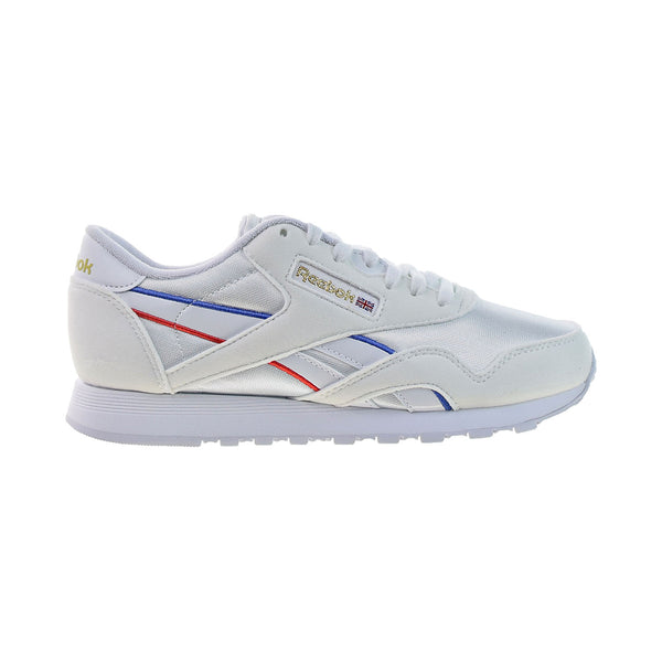 Reebok Classic Nylon Women's Shoes White-Radiant Red-Blue Blast