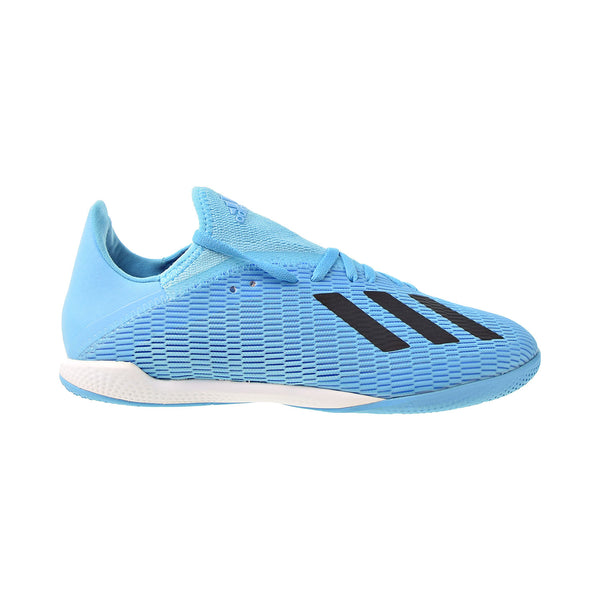 Adidas X 19.3 Indoor Soccer Men's Shoes Bright Cyan-Core Black-Shock Pink