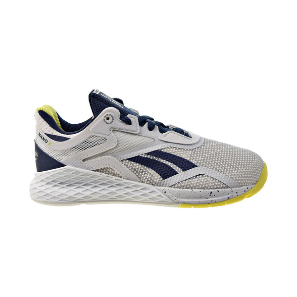 Reebok Nano X Women's Training Shoes True Grey-Vector Navy-Chartreuse