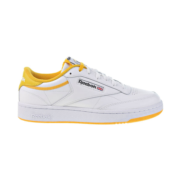 Reebok Classic Club C 85 Men's Shoes White-Fierce Gold-Black