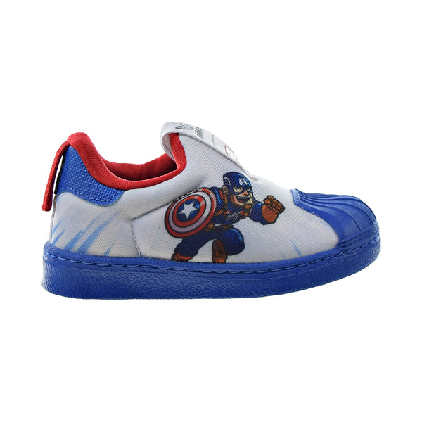 "Adidas Superstar 360 I ""Marvel Captain America"" Toddlers' Shoes White-Red"
