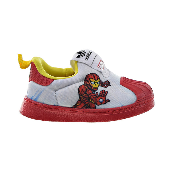 "Adidas Superstar 360 I ""Marvel Iron Man"" Slip-On Toddlers' Shoes White-Red"