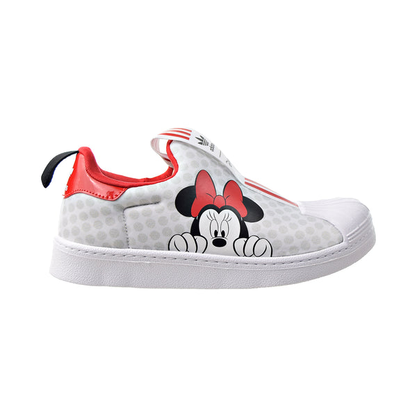 "Adidas Superstar 360 X C ""Minnie Mouse"" Little Kids' Shoes White-Scarlet-Black"