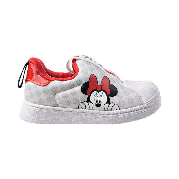 "Adidas Superstar 360 I ""Minnie Mouse"" Toddlers' Shoes White-Scralet-Black"