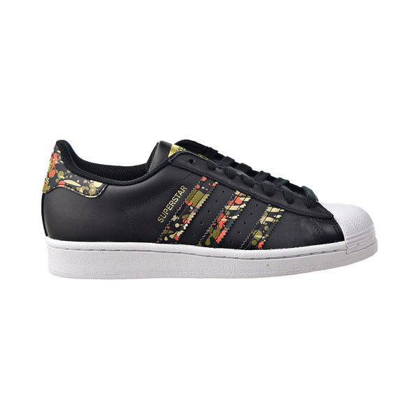 Adidas Superstar Men's Shoes Black-Fox Orange