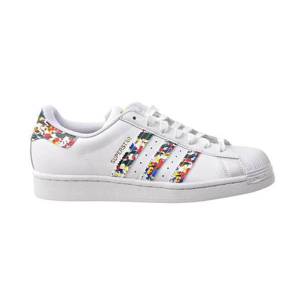 Adidas Superstar Men's Shoes Cloud White-Gold Metallic