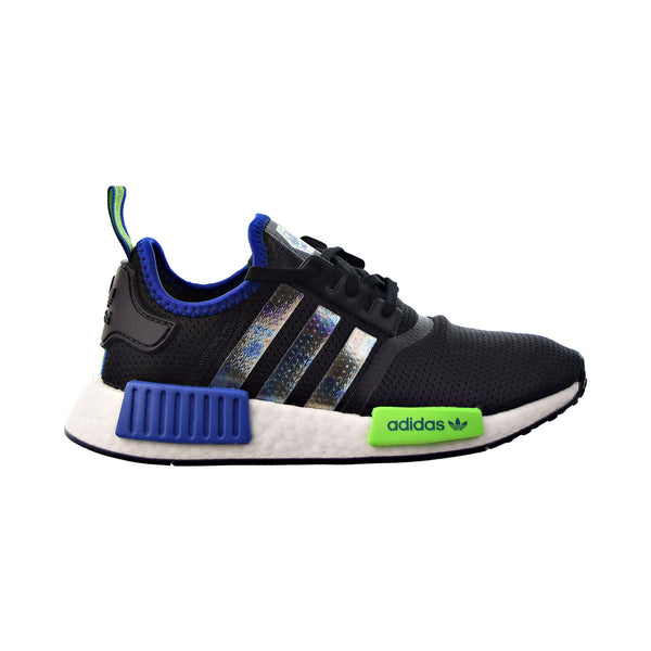 Adidas NMD_R1 Big Kids' Shoes Core Black-Supplier Color-Solar Green