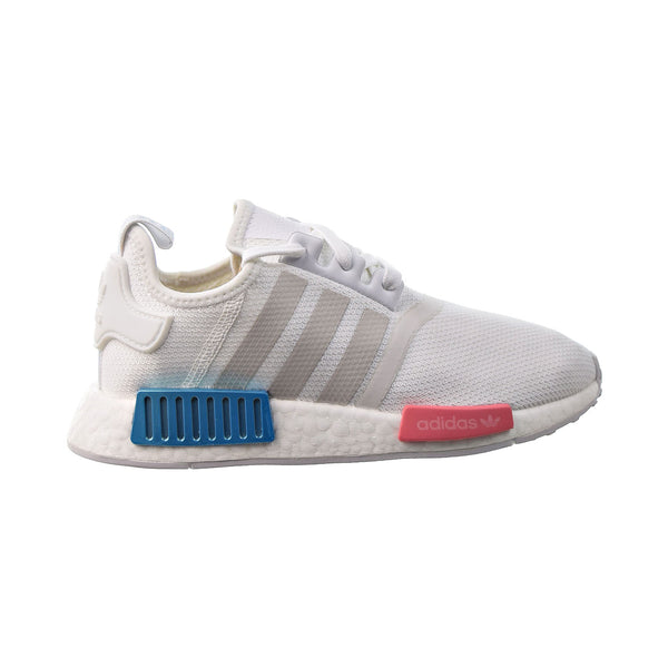 Adidas NMD R1 Women's Shoes White-Grey-Hazy Rose