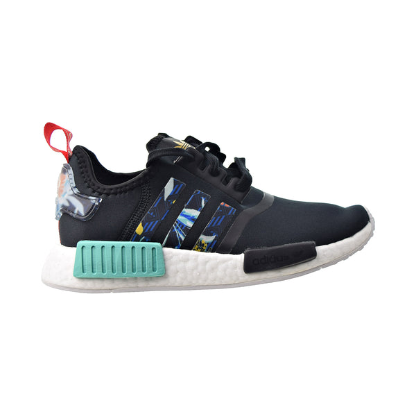 "Adidas NMD_R1 ""HER Studio"" Women's Shoes Core Black-Supplier Colour-Acid Mint"