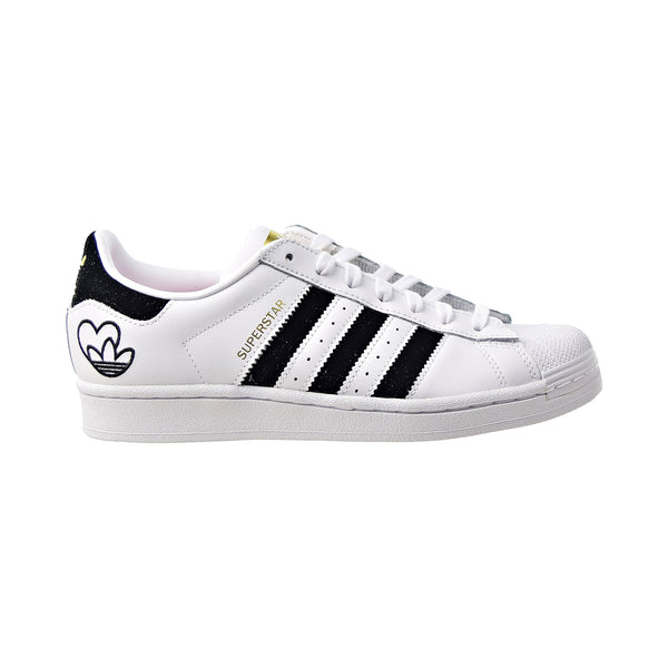 Adidas Superstar W Velvet Women's Shoes White-Black-Gold Metallic