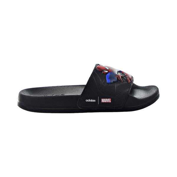 Adidas Adilette Little Kids' Spiderman Slippers Black