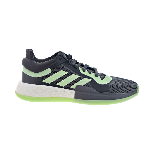 Adidas Marquee Boost Low Men's Basketball Shoes Carbon-Glow Green-Grey Five
