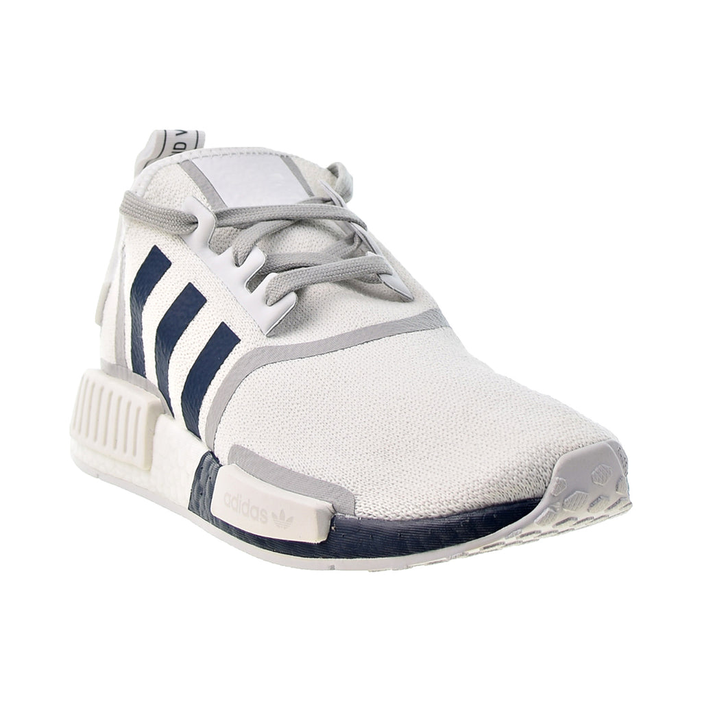 Adidas NMD R1 Men's Shoes Cloud White-Crew Navy-Grey Two – RBD Outlet