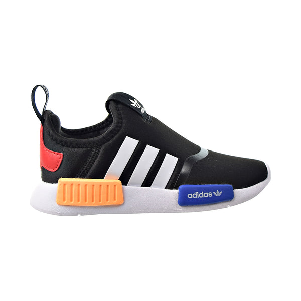 Adidas NMD 360 I Toddlers' Slip-On Shoes Black-White-Solar Gold
