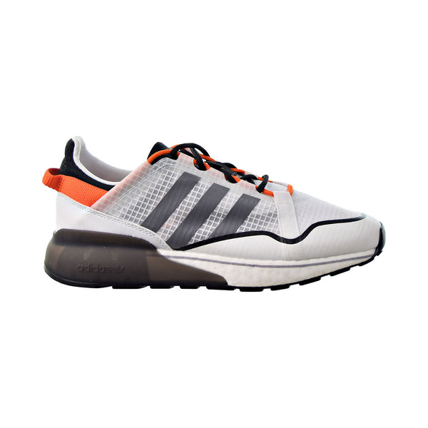 Adidas ZX 2K Boost Pure Men's Shoes Cloud White-Grey Three-Orange